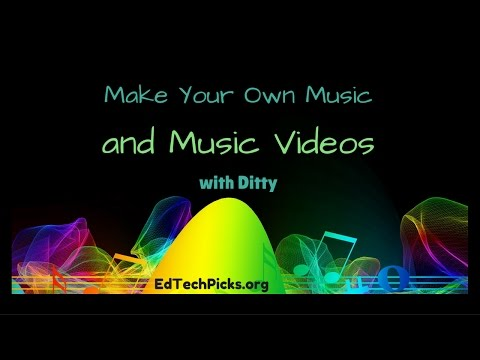 Make Your Own Music and Music Videos with Ditty