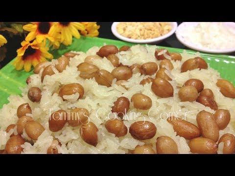 Xôi Đậu Phọng (Peanut Sticky Rice) Xoi Dau Phong