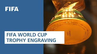 FIFA World Cup Trophy Engraving!