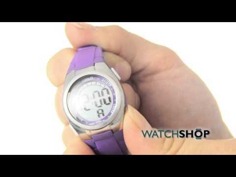 Lorus Ladies' Alarm Chronograph Watch (R2357GX9)