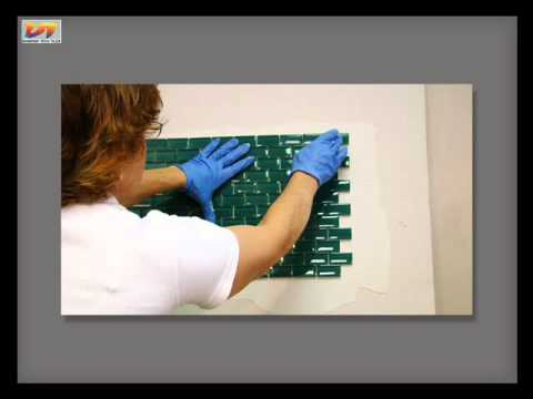 Tiling - How to Install Mesh-Backed Tile