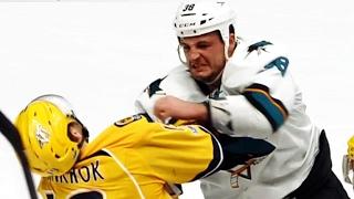 Gotta See It: Haley drops Jarnkrok with huge sucker punch