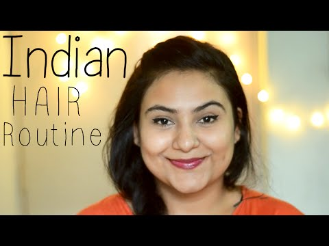 Indian hair care routine for Dry, damaged, Frizzy  {Delhi fashion blogger}