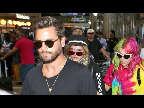 Scott Disick Heads To Europe With 'Girlfriend' Bella Thorne, Asked If He's Upset At Kourtney