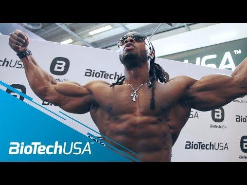 Salon Body Fitness 2018 Paris - 2nd Day - 17 March - BioTechUSA