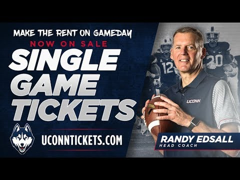 2017 UConn Football Tickets on Sale