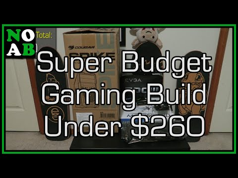 $260 Super Budget Performance Gaming PC - March 2016