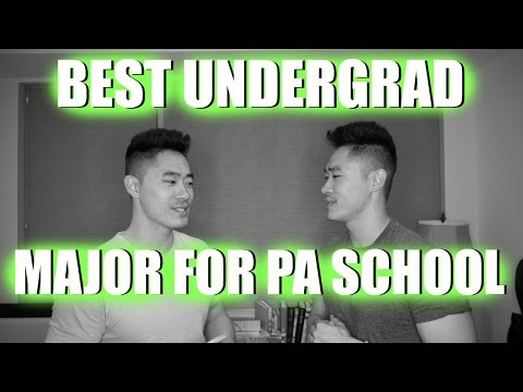 Pre-PA | Best Undergrad Major for Physician Assistant School!