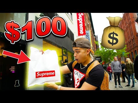How Much Supreme Can You Buy For $100!?