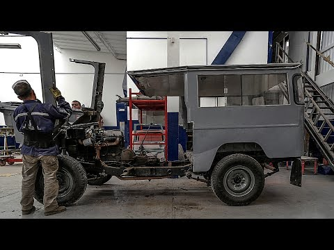 1971 Toyota Land Cruiser FJ43 Restoration Project