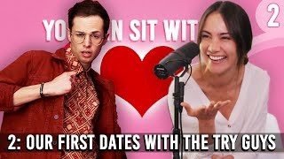 The Try Wives Podcast - Ep. 2 - Our First Dates With The Try Guys