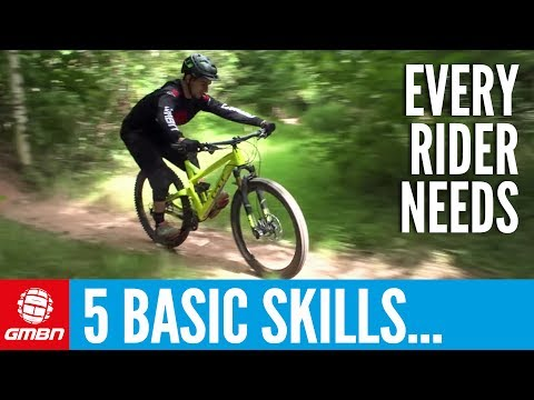 5 Basic Skills Every Mountain Biker Should Know