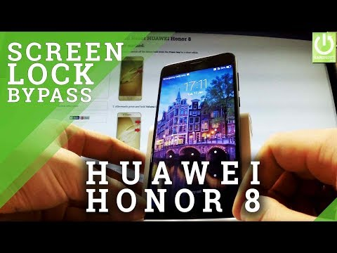 How to Hard Reset HUAWEI Honor 8 - Bypass Pattern Lock