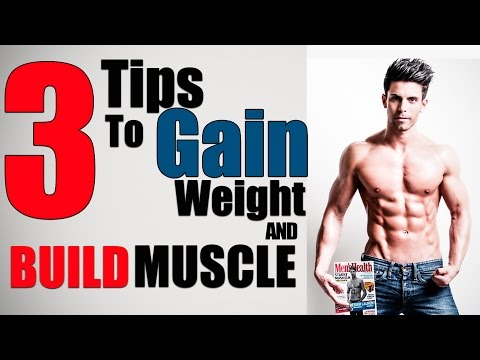 3 Quick Tips To GAIN WEIGHT and BUILD MUSCLE for Skinny Men   Mayank Bhattacharya