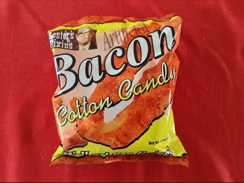 I'm Gonna Eat Bacon Cotton Candy