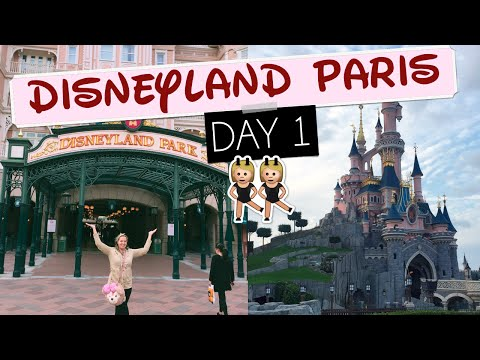 DISNEYLAND PARIS DAY 1: Eurostar + Our First Time at Disneyland Paris! | Gillian At Home