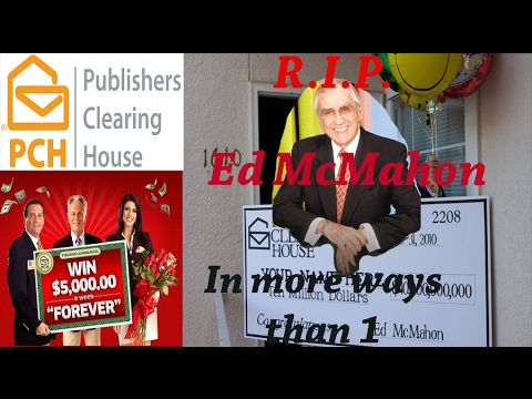 *NEW* Mandela Effect: Ed McMahon Was Never Associated With Publisher's Clearing House!?!?