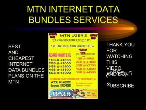 MTN DATA BUNDLES PROMO