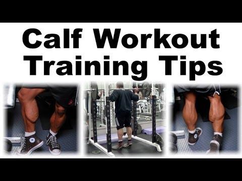 Standing Barbell Calf Raises + Calf Workout Tips