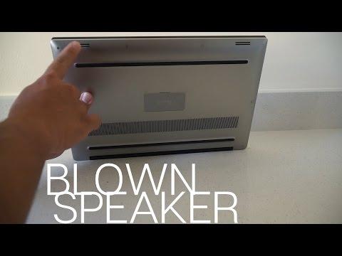 A Speaker Blew on My $2,000 Laptop - Dell XPS 15