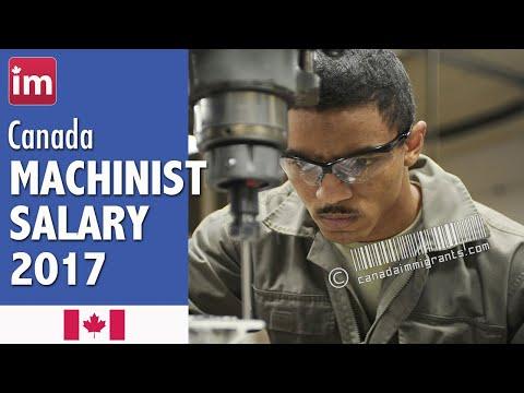 Machinist Salary in Canada | Jobs in Canada (2017)