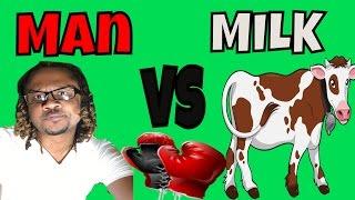 Man Vs Milk - @Akil2Crazy