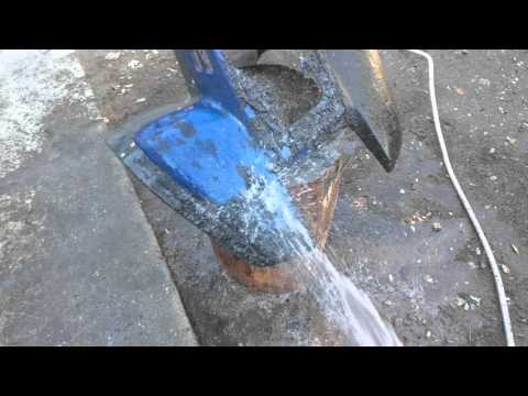 Removing spray paint from atv plastic part 2