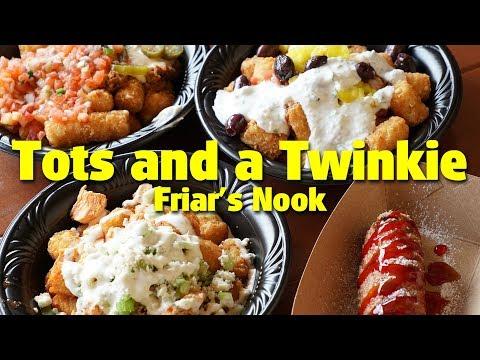 Tots and a Twinkie at Friar's Nook | Magic Kingdom