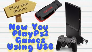 How to install a game in your pendrive for ps2(simple & 100