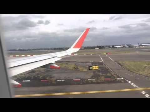 Jetstar flight Sydney to Sunshine Coast