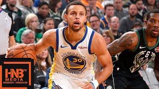 Golden State Warriors vs Milwaukee Bucks Full Game Highlights | 12.07.2018, NBA Season