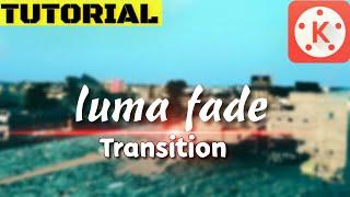 Tutorial Luma Fade Transition in Kinemaster
