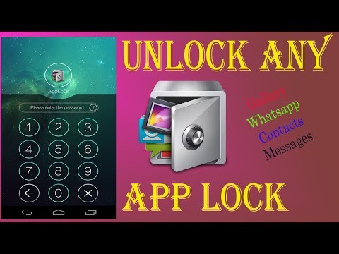 Unlock All Locked Apps Without Password | for Your Mobile | jam Asif.