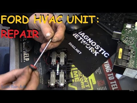 Ford Heater - A/C Not Switching Modes: The Fix