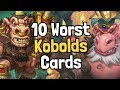 The 10 Worst Kobolds & Catacombs Cards - Hearthstone