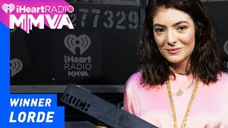 Lorde Wins International Artist of the Year | 2017 iHeartRadio MMVAs