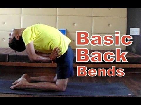 Backbend Yoga Pose Series   Basic Yoga for Beginners