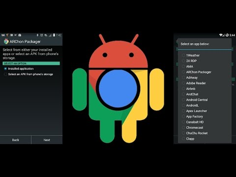Run Android Apps On Chrome Browser **No Root** Using ARChon Packager
