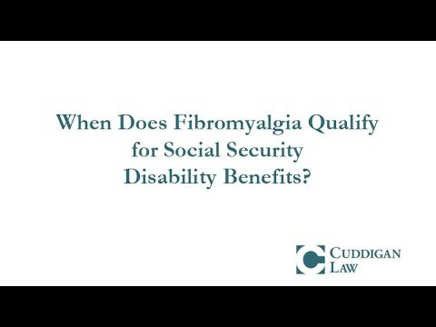 When Does Fibromyalgia Qualify for Disability?