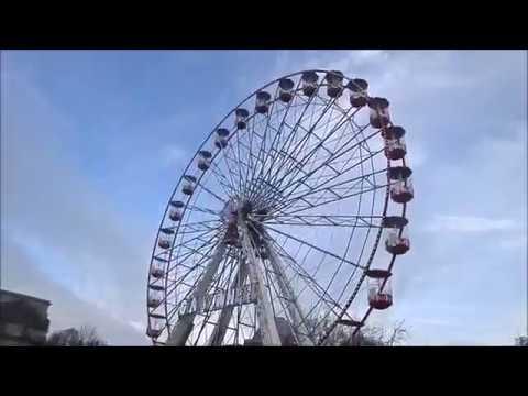 Giant Wheel On Ride POV - Cardiff Winter Wonderland 2016