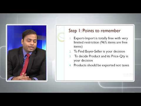 How to start Export Business in Hindi Part 1 - 6 Steps to Export  (2/5)