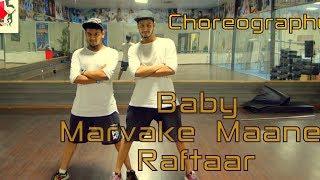 Baby Marvake Maanegi - Raftaar | Nora Fatehi | choreo by Ajinkyasingh Bansi aka AJ FT Hrish Ghule