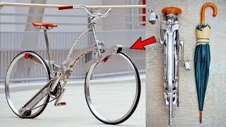 5 FOLDING BICYCLE INVENTION Can Fold Like a Umbrella