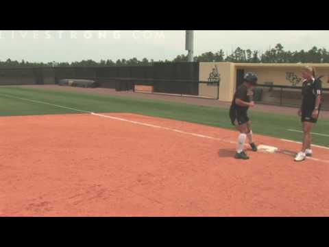 How to Base Run in Softball