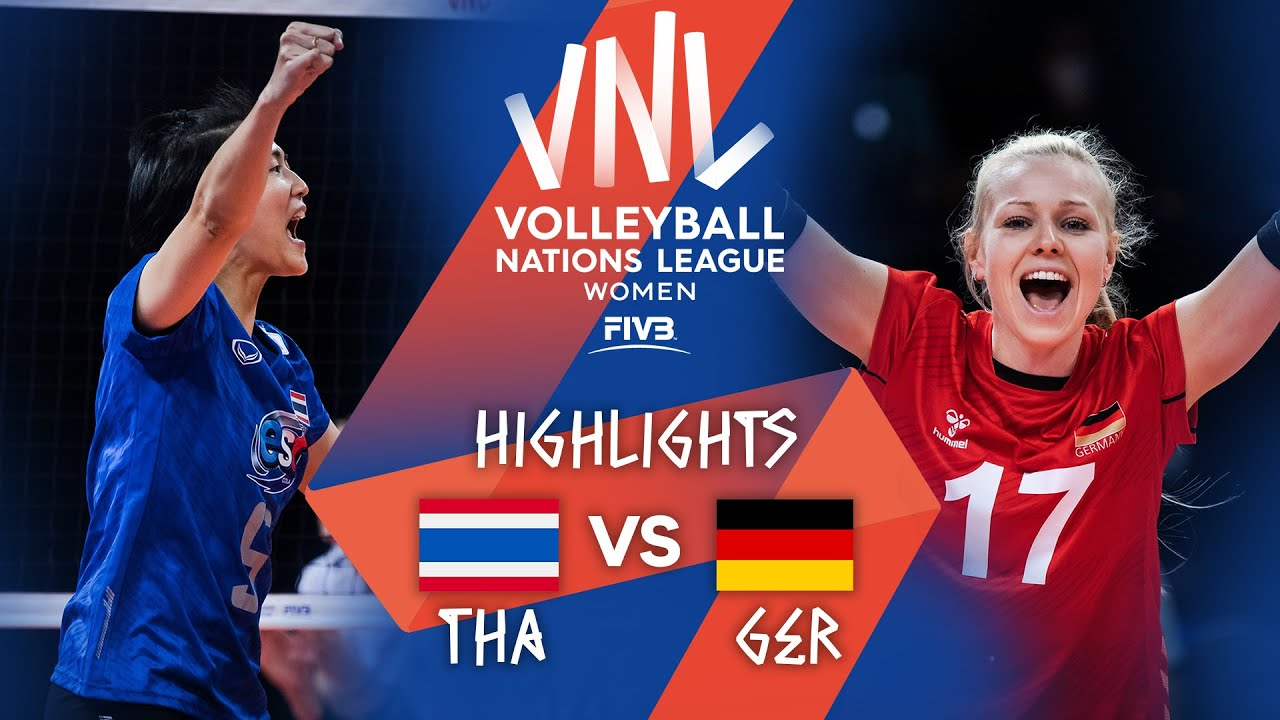 THA vs. GER - Highlights Week 4   Women's VNL 2021