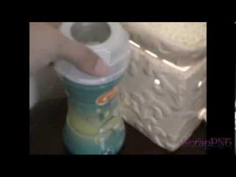 Laundry Air Freshener in Oil Warmer How To DIY