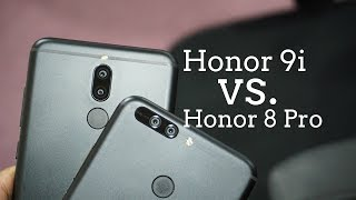 Honor 9i vs Honor 8 Pro Comparison - How do they differ?