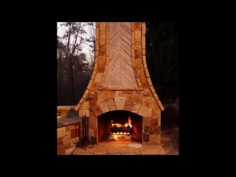 Time Lapse Outdoor Fireplace, Kitchen, Pizza Oven Part I