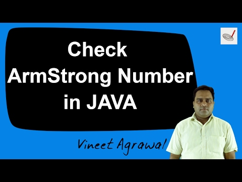 Program to Check Armstrong number in JAVA | Hindi / Urdu