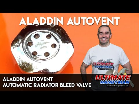 Aladdin autovent | automatic radiator bleed valve